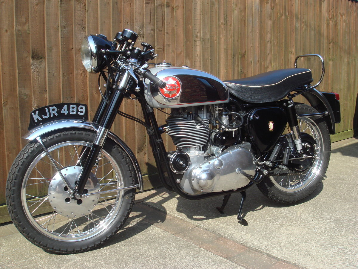 1956 BSA Gold Star with interesting history For Sale (picture 1 of 6)