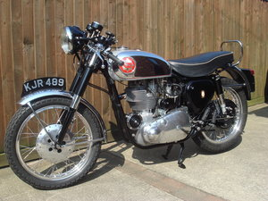 1956 BSA Gold Star with interesting history