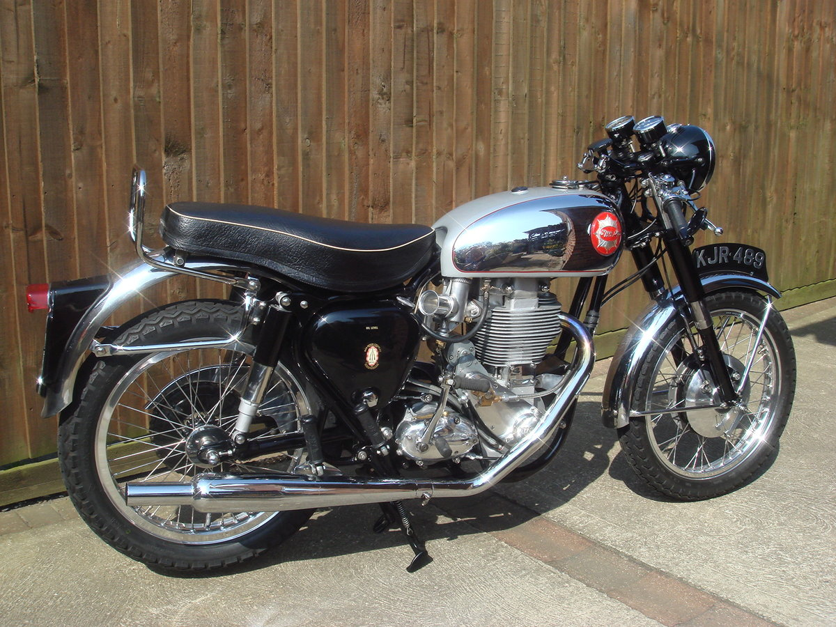 1956 BSA Gold Star with interesting history For Sale (picture 2 of 6)