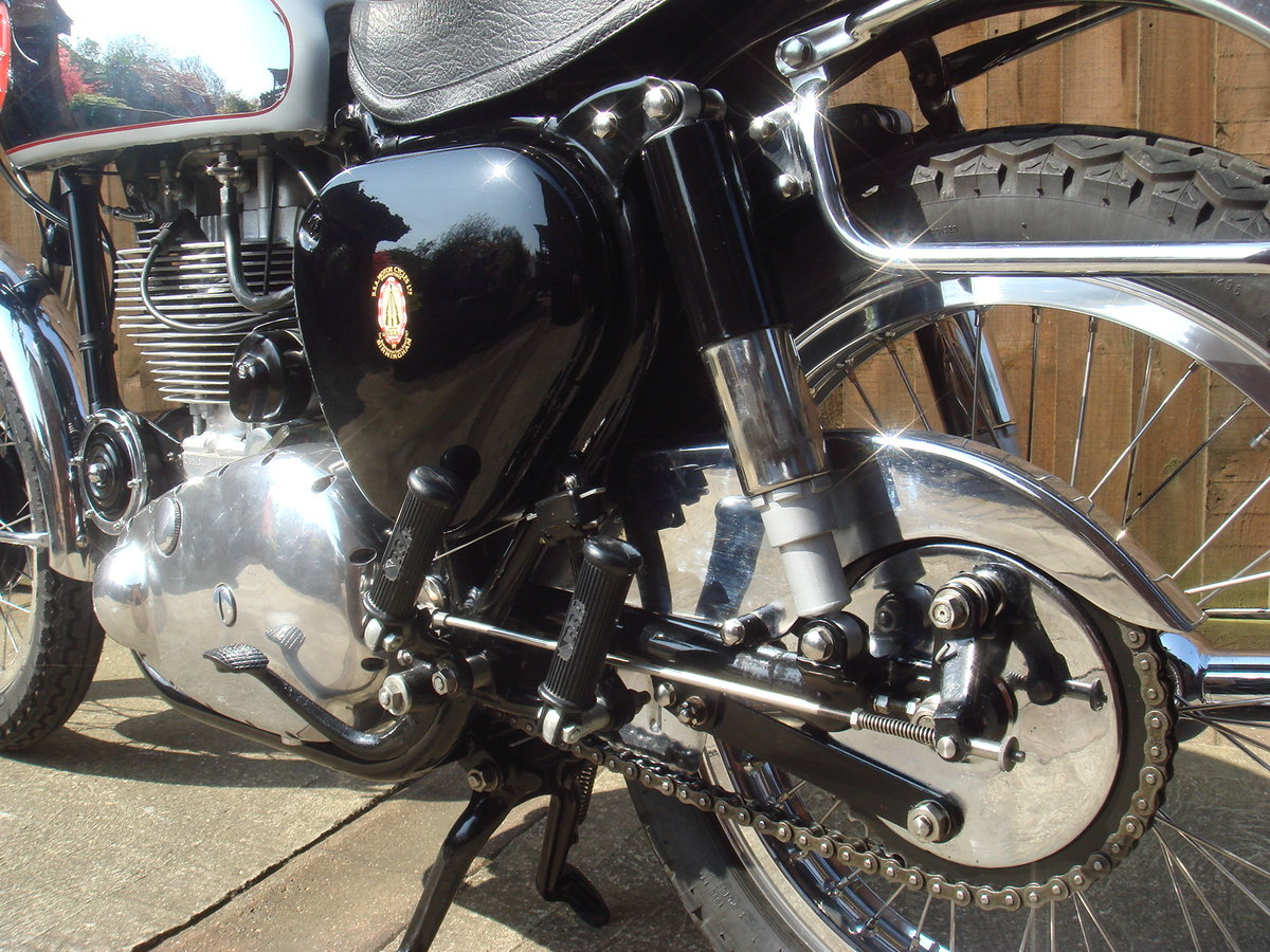 1956 BSA Gold Star with interesting history For Sale (picture 5 of 6)
