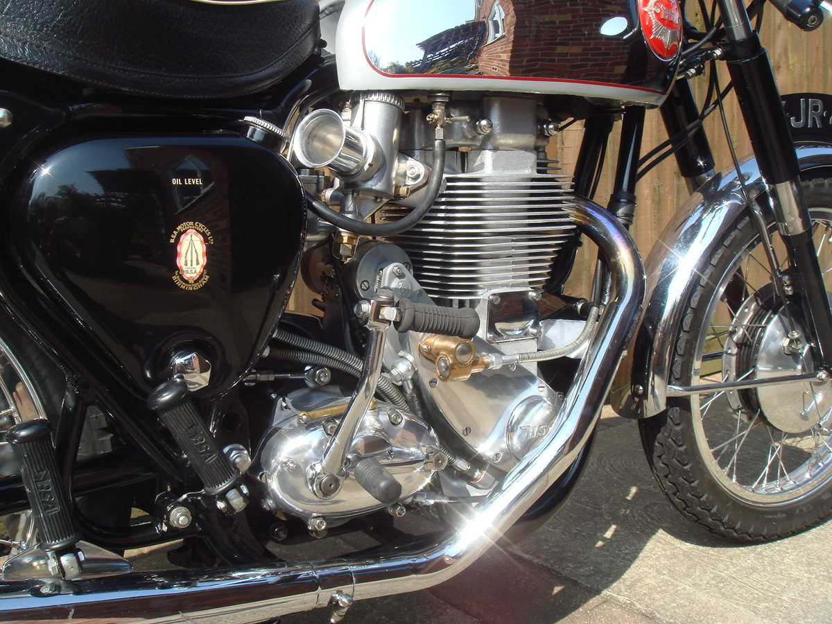 1956 BSA Gold Star with interesting history For Sale (picture 6 of 6)