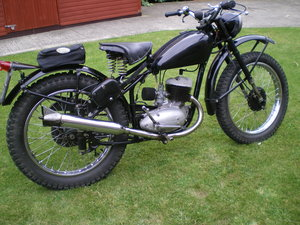 BSA Bantam 1951 Trials /Trail , Multiple winning Machine ! SOLD