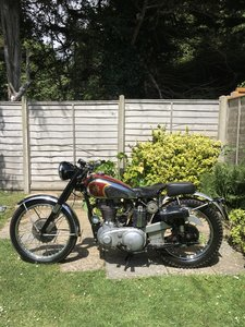 1950 BSA Gold Star Genuine ISDT Gold Medal Winning bike