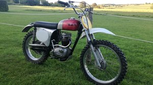 1965 BSA B44 with B40GB Motor, Scrambles Pre 65