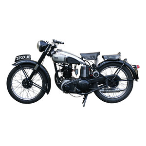1946 BSA  Motorcycle, Classic 250 cc. Single Cylinder . For Sale