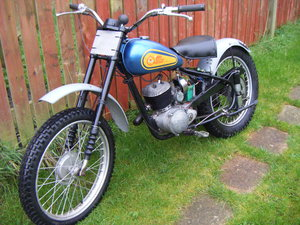 1959 Bsa Bantam D1 Plunger in Trials trim For Sale
