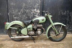 1957 BSA 247 cc.