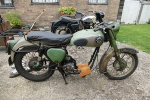 1956 BSA A7 Shooting Star, 500 cc. For Sale by Auction