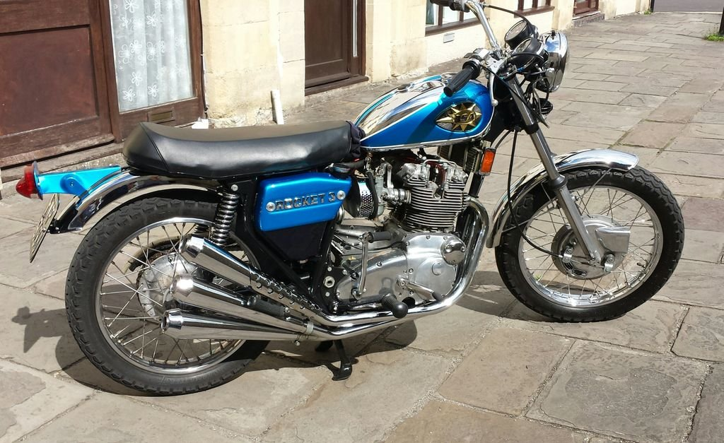 Picture of 1971 BSA Rocket 3 Price reduced Force. Corona Job loss. For Sale