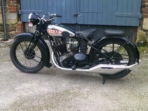 1931 BSA SLOPER 500cc O.H.V. For Sale