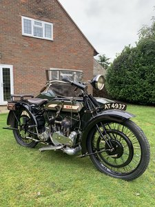 1921 BSA Outfit 770cc V Twin