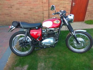 1965 BSA Firebird Scrambler Replica