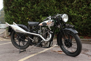 1931 Rigid BSA Model L31-6 De Luxe 349cc Twin Port OHV