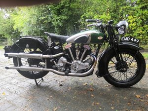 1936 BSA 750cc Model Y13 For Sale by Auction