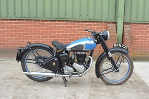 1949 BSA C11 Deluxe For Sale by Auction