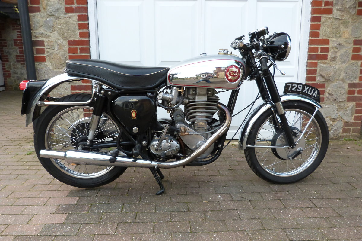 1956 BSA DB34 Gold Star For Sale (picture 1 of 6)