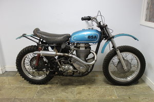 1960 BSA DBD 34 Gold Star Ex Jim Hunter  AMA, No# 1 Plate Holder For Sale