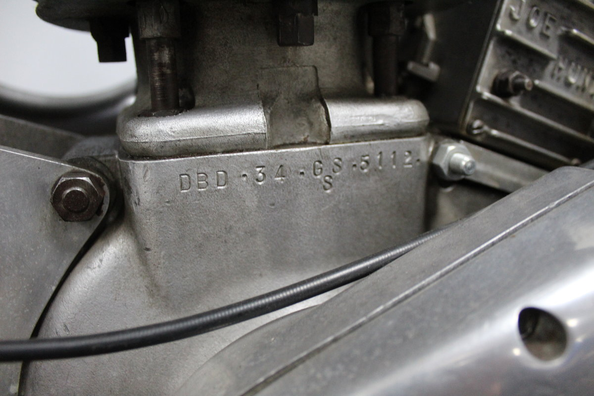 1960 BSA DBD 34 Gold Star Ex Jim Hunter  AMA, No# 1 Plate Holder For Sale (picture 5 of 6)