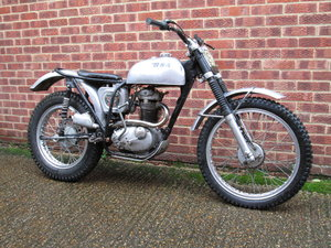 1967 BSA WD B40 343cc TRIALS BIKE
