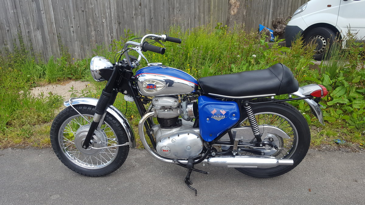 1967 BSA A65 Lightning For Sale (picture 1 of 6)