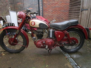 1958 BSA 250 C12 Ready to ride Original bike lots  For Sale