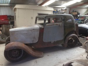 1933 BSA 10hp Peerless Coupe Project/Barn Find
