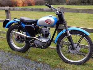 BSA C15T Trials  250cc  1959