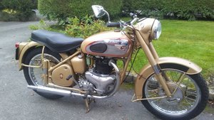 1956 BSA A10 Gold flash Plunger
