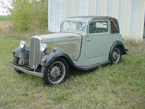 1934 BSA peerless coupe  For Sale