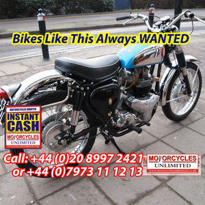 1960 BSA A10 650 With Correct Number, Lovely Condition.
