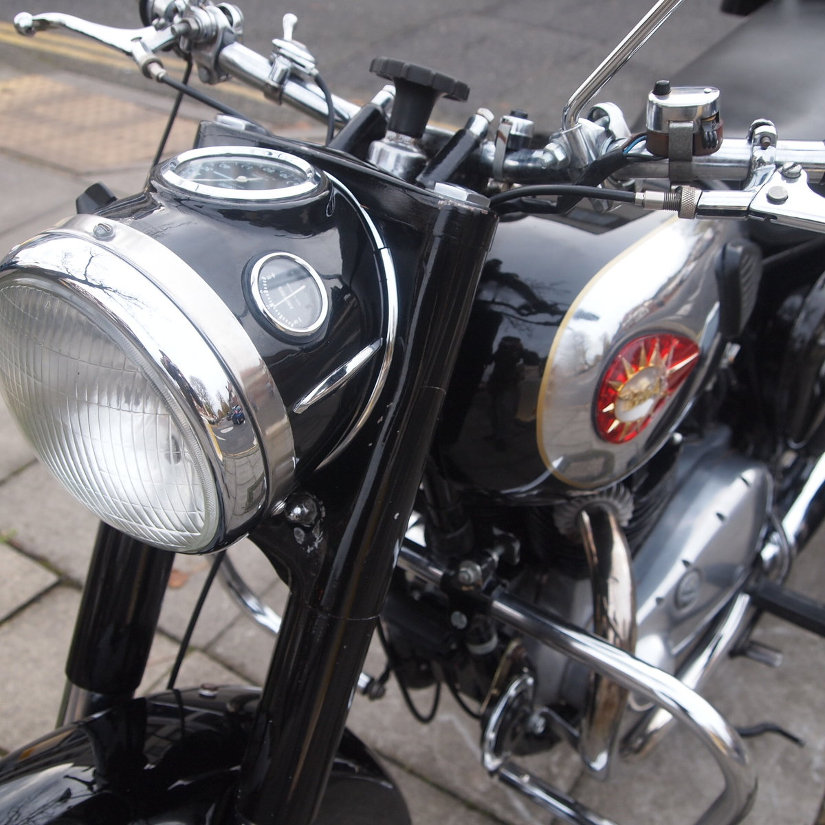 1960 BSA A10 650 With Correct Number, Lovely Condition. SOLD (picture 3 of 6)