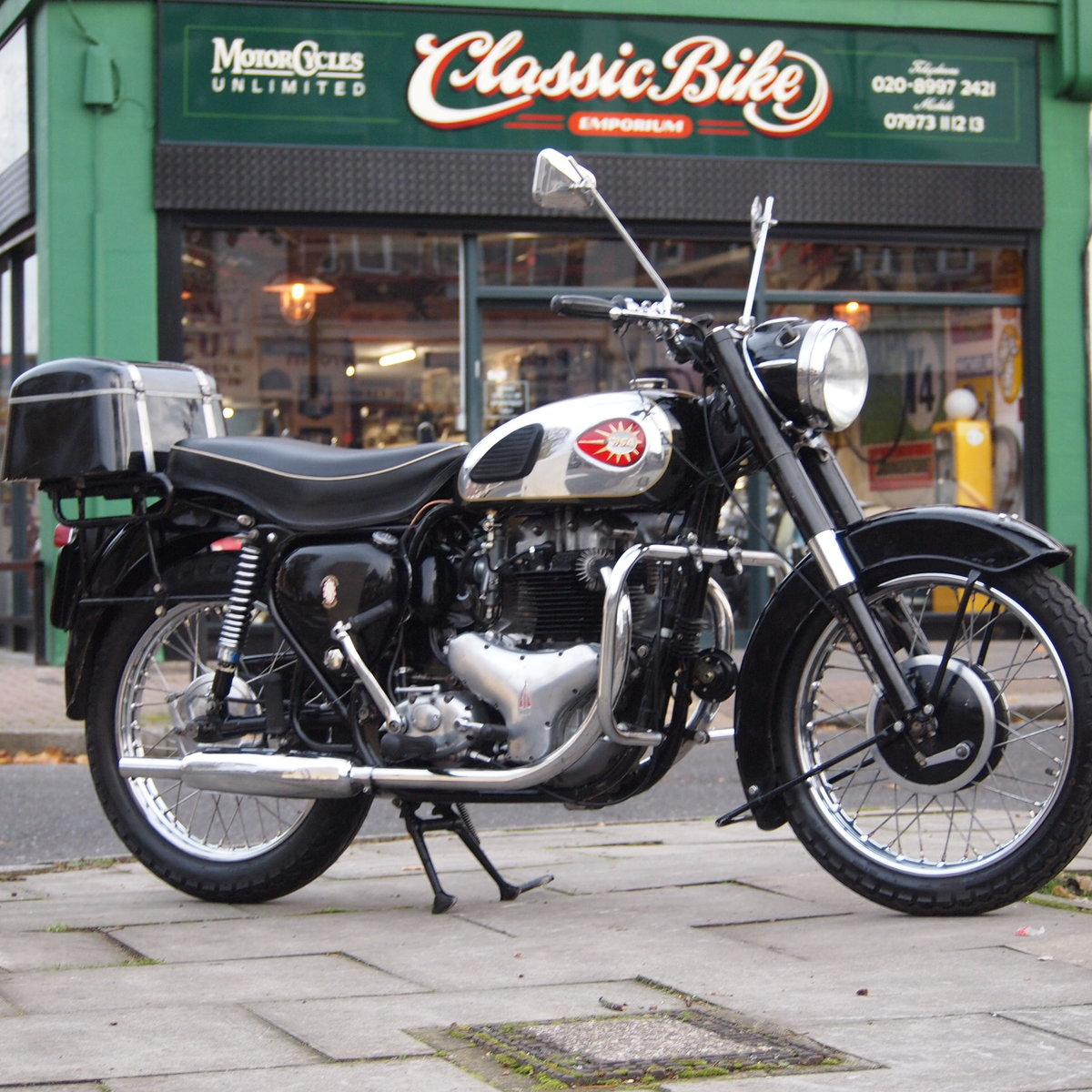 1960 BSA A10 650 With Correct Number, Lovely Condition. SOLD (picture 4 of 6)