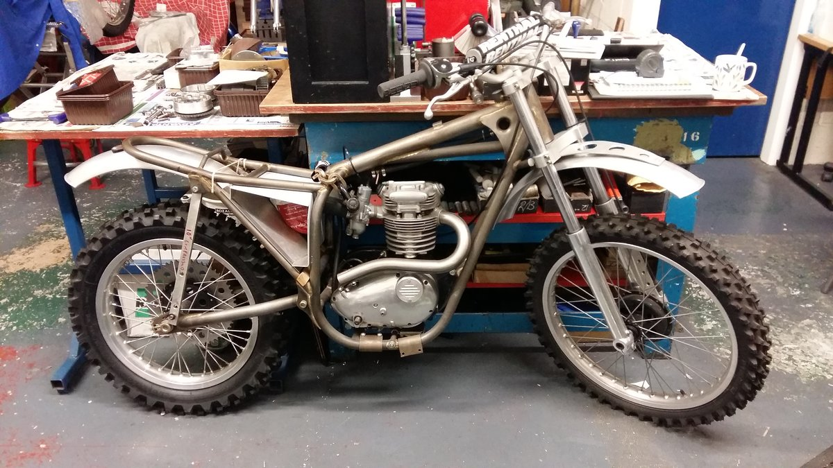 2010 BSA Rolling chassis unfinished For Sale (picture 1 of 1)