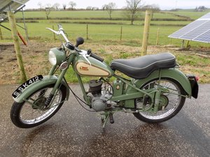 1953 BSA Bantam D1 in lovely condition SOLD