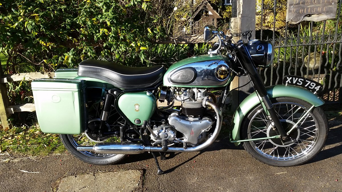 1959 BSA A7SS Shooting Star 500cc Twin For Sale (picture 1 of 6)