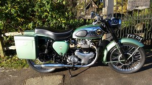 1959 BSA A7SS Shooting Star 500cc Twin