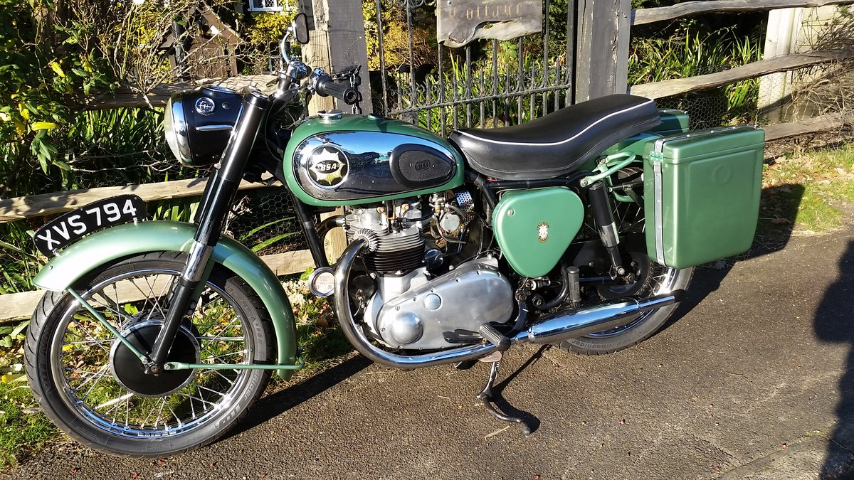 1959 BSA A7SS Shooting Star 500cc Twin For Sale (picture 2 of 6)