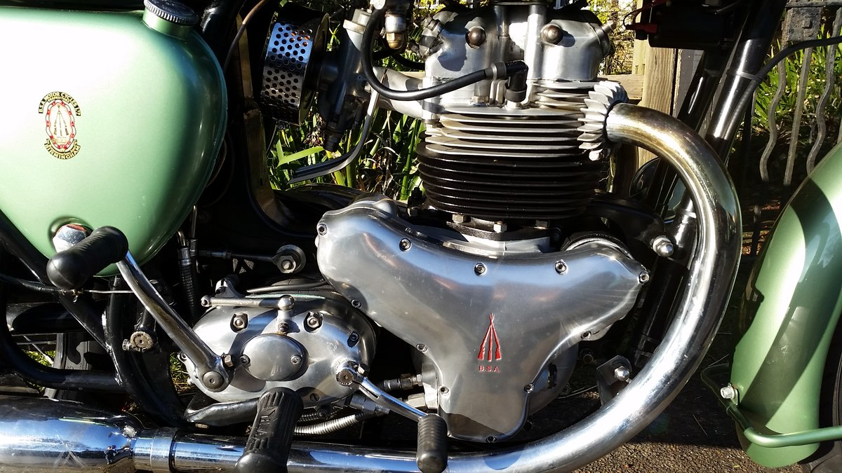 1959 BSA A7SS Shooting Star 500cc Twin For Sale (picture 3 of 6)