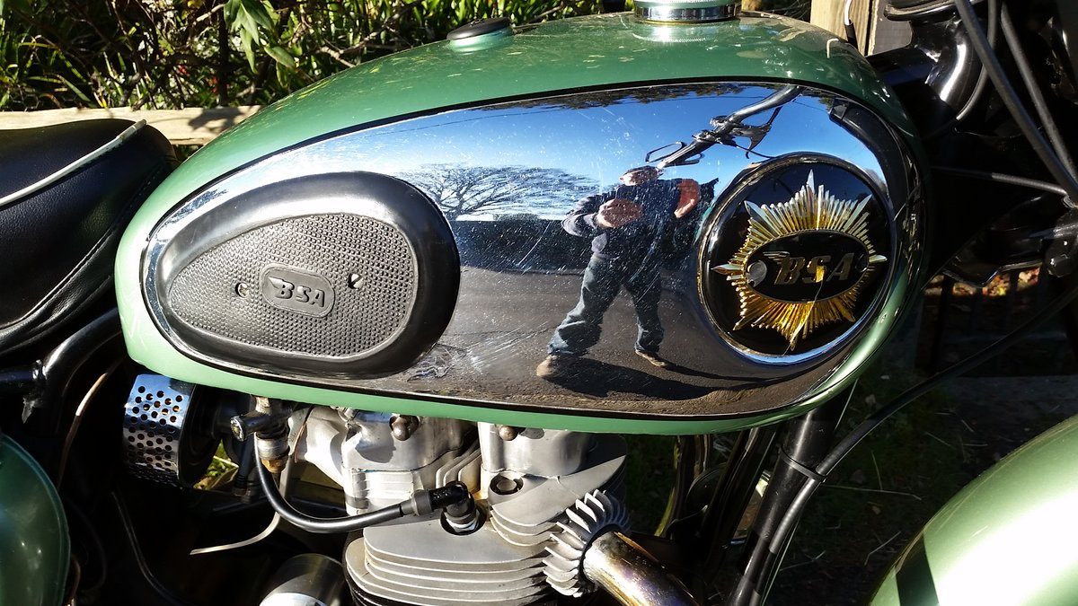 1959 BSA A7SS Shooting Star 500cc Twin For Sale (picture 5 of 6)