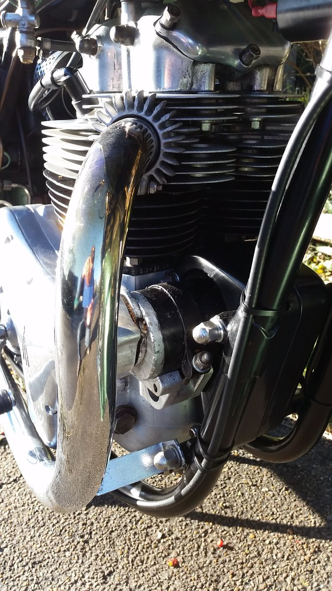1959 BSA A7SS Shooting Star 500cc Twin For Sale (picture 6 of 6)
