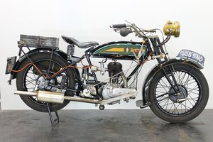 BSA Model H 1928 557cc 1 cyl sv