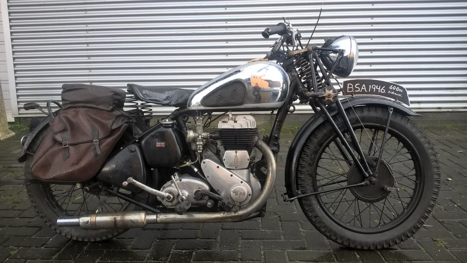 BSA WM 20 girder . 600 CC 1946 For Sale (picture 1 of 6)