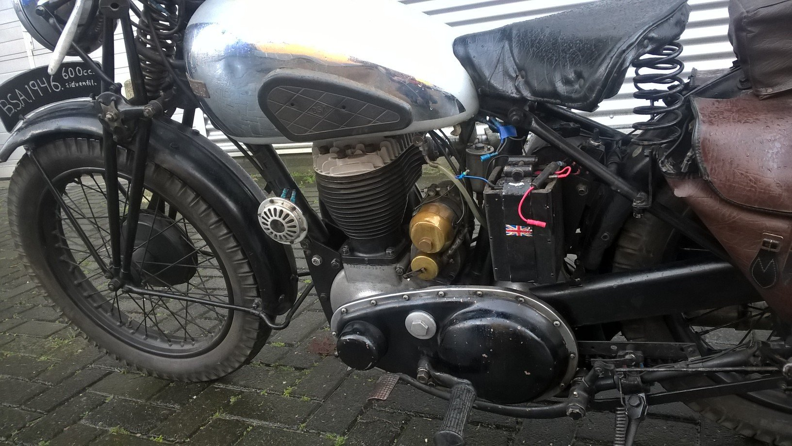 BSA WM 20 girder . 600 CC 1946 For Sale (picture 4 of 6)