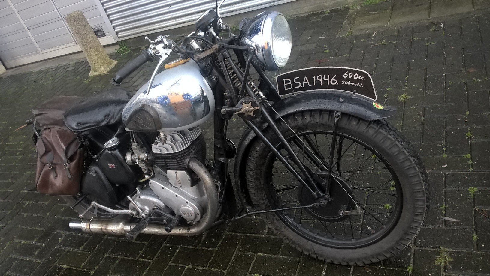 BSA WM 20 girder . 600 CC 1946 For Sale (picture 5 of 6)