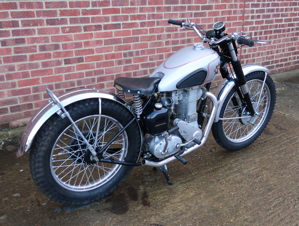 1948 BSA B32 Competition Trails For Sale (picture 4 of 6)