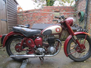 BSA 250 C12 1958 Ready to ride Original bike lots  For Sale
