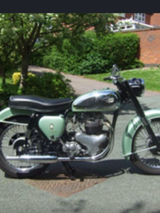 1958 BSA A7ss for restoration