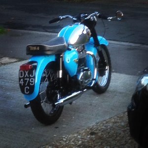 1965 STUNNING BSA A65 STAR TWIN