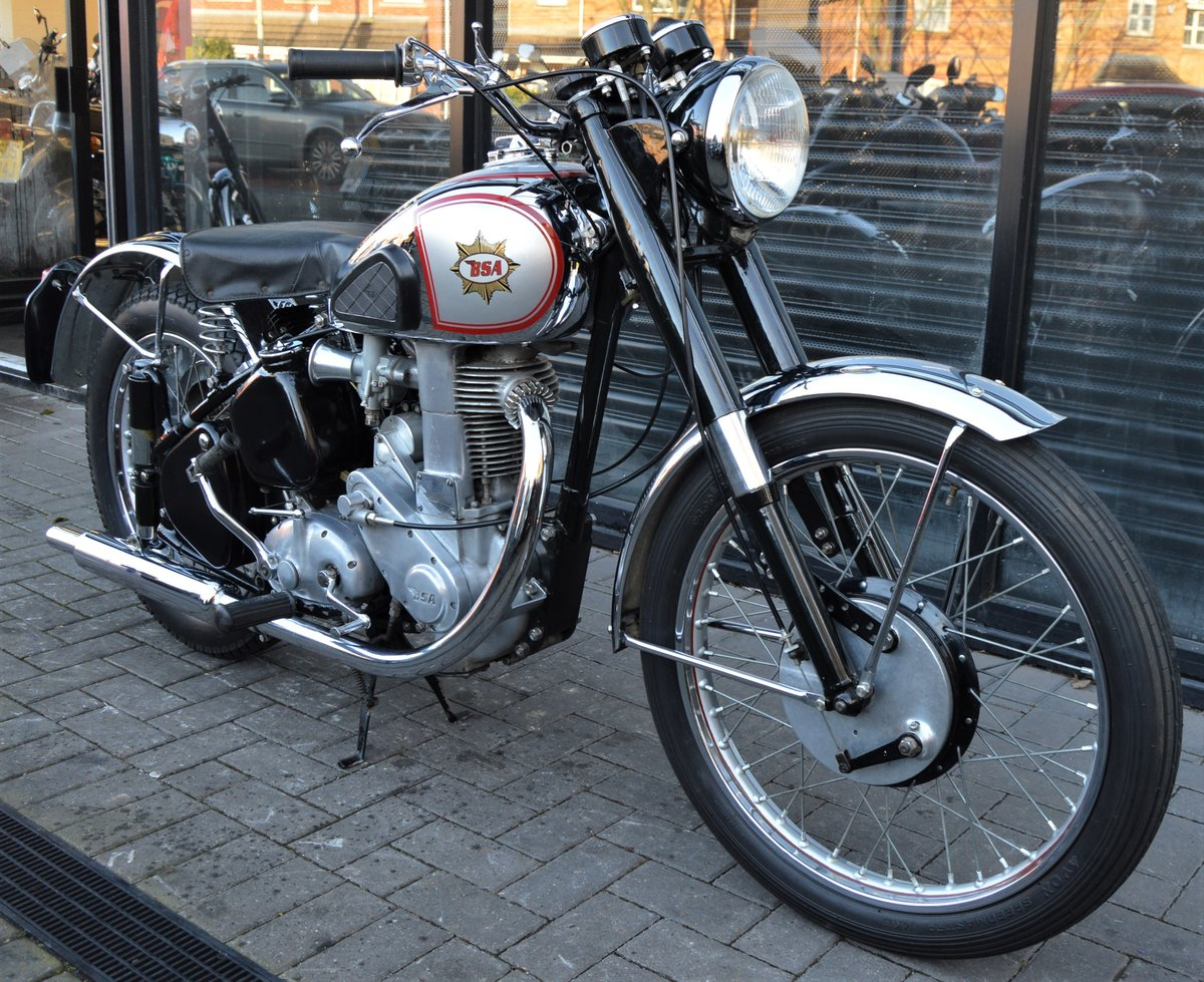 1951 BSA ZB32 GOLD STAR 350cc * CORRECT NUMBERS * RESTORED For Sale (picture 1 of 6)