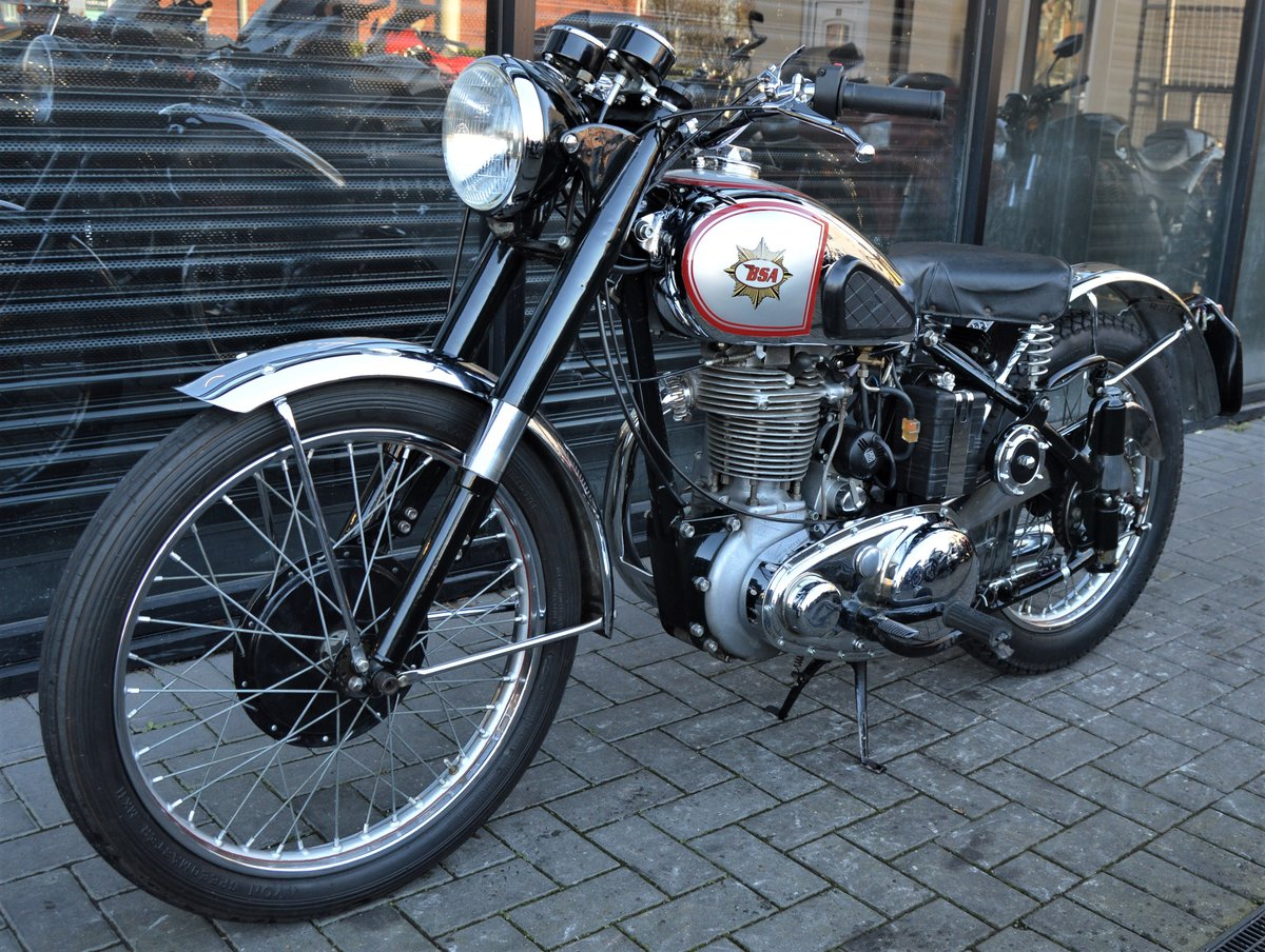 1951 BSA ZB32 GOLD STAR 350cc * CORRECT NUMBERS * RESTORED For Sale (picture 3 of 6)